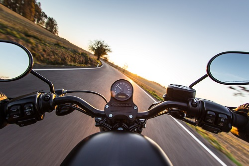 POV Motorcycle Ride